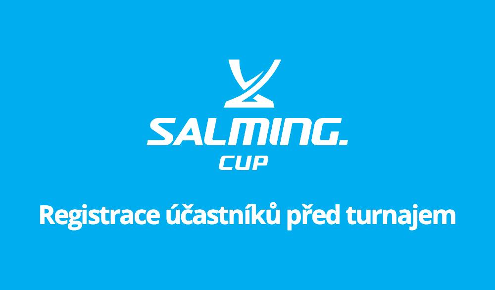 Informace k registraci účastníků před turnajem!